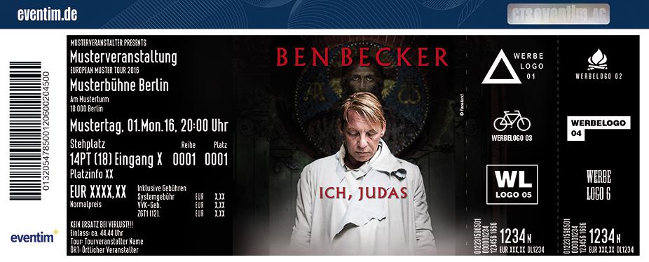 Karten für Ben Becker: Ich, Judas in Berlin