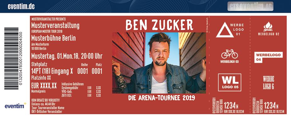 Ben Zucker | Die Arena-Tournee 2019