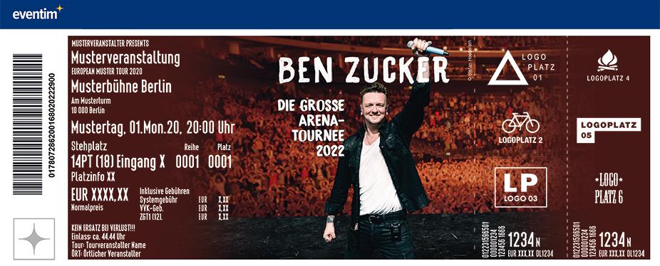 VIP Upgrade | BEN ZUCKER - Die große Arena-Tournee - Live 2022