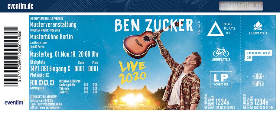 Ben Zucker - Live mit Band 2021