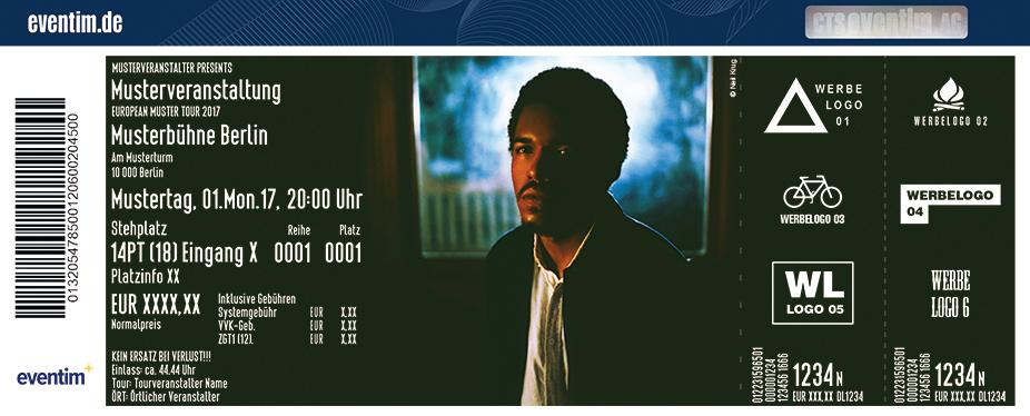 Karten für Benjamin Booker in Berlin