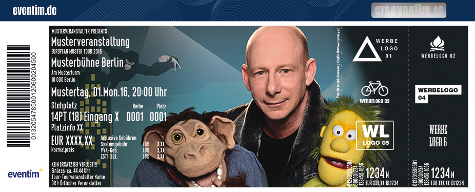 Karten für Benjamin Tomkins: King Kong und die weiße Barbie in München