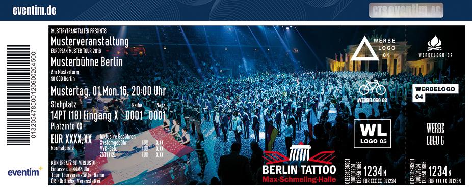 Karten für Berlin Tattoo 2017 - Internationale Militärmusikschau in Berlin