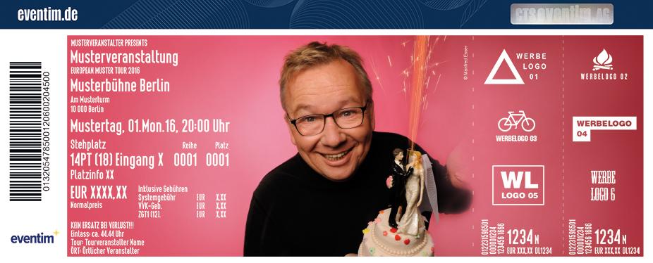 Karten für Bernd Stelter: Wer heiratet teilt sich die Sorgen, die er vorher nicht hatte in Nettetal