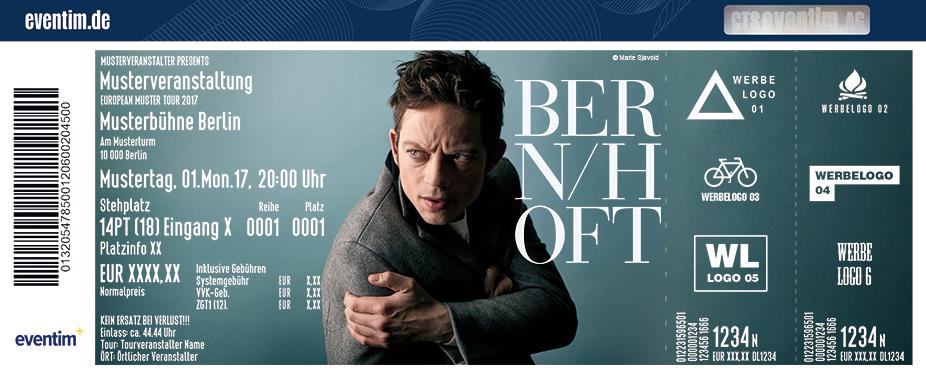 Karten für Bernhoft & The Fashion Bruises in Frankfurt