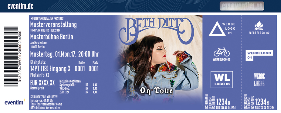 Karten für Beth Ditto in München