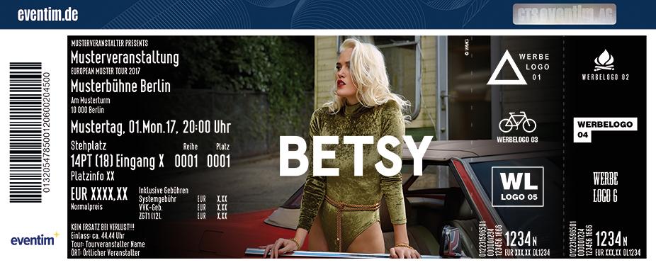 Karten für Betsy in Köln
