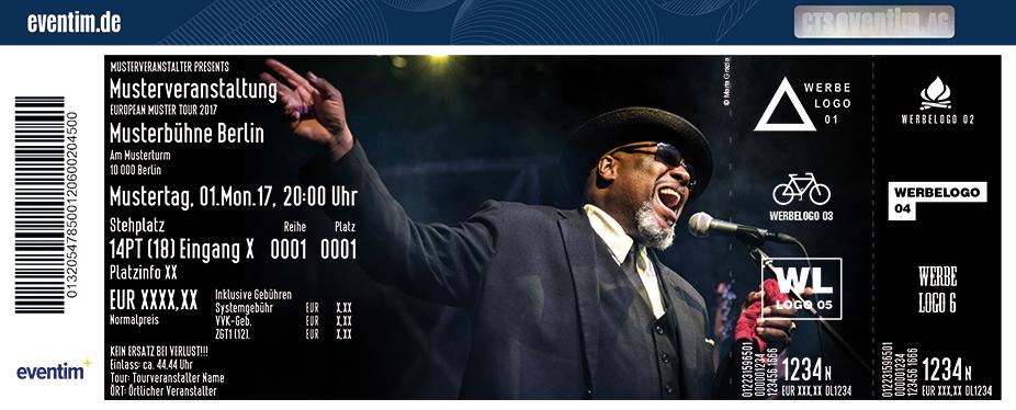 Karten für Big Daddy Wilson in Bonn