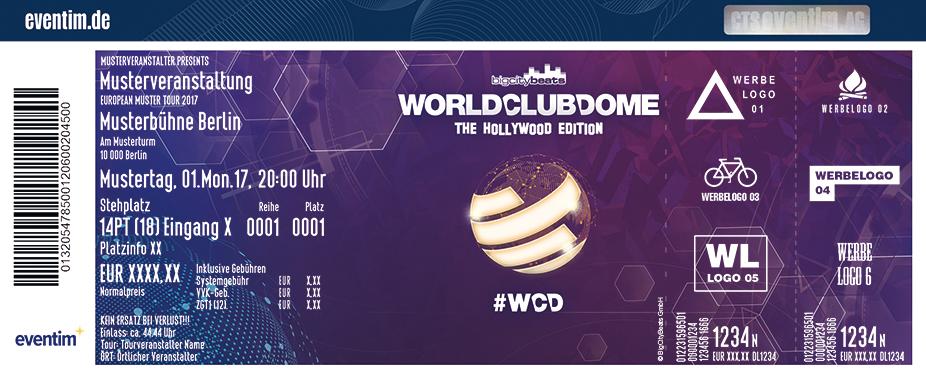 World Club Dome Karten für ihre Events 2018