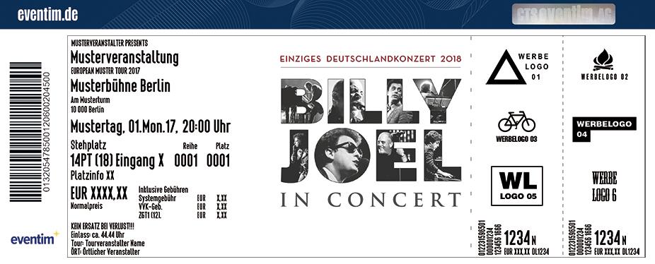 Billy Joel Karten für ihre Events 2018