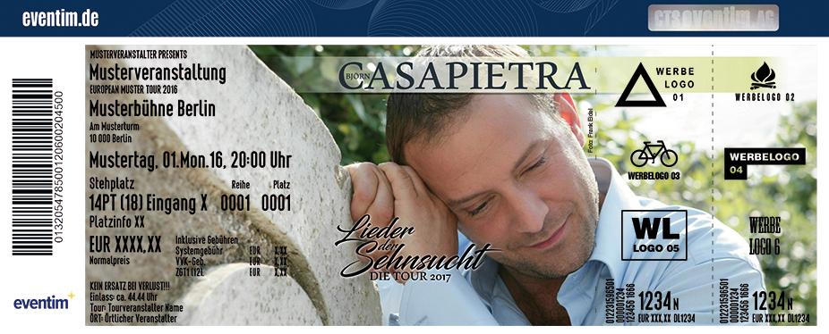 Karten für Björn Casapietra: Lieder der Sehnsucht in Horneburg