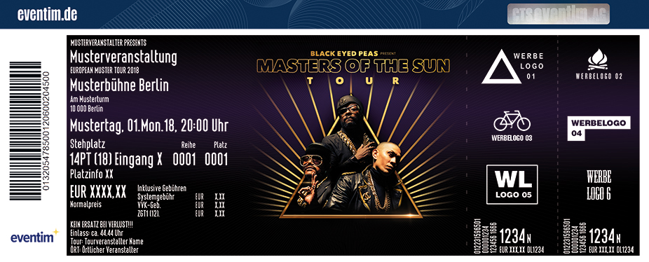 Black Eyed Peas | Masters of the Sun Tour