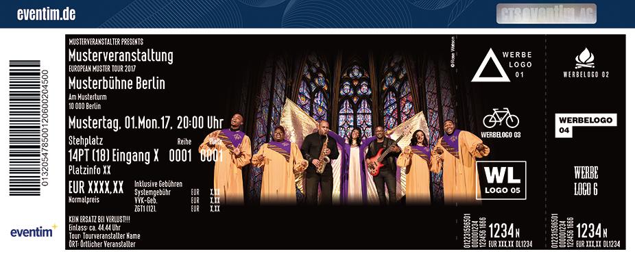 Karten für Black Gospel Angels: Live 2017/2018 in Heidelberg
