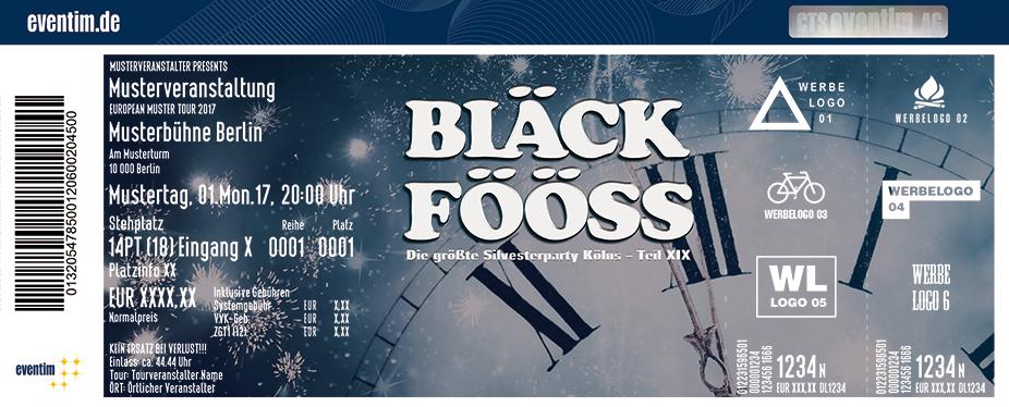 Bläck Fööss Karten für ihre Events 2017