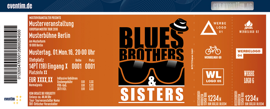 Karten für Blues Brothers & Sisters in Cuxhaven
