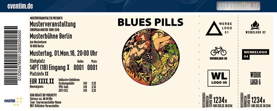 Blues Pills Karten für ihre Events 2017