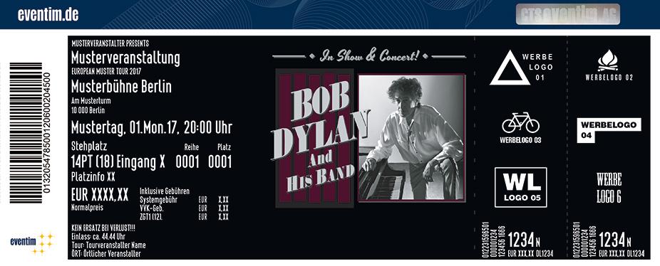 Karten für Bob Dylan And His Band in Nürnberg