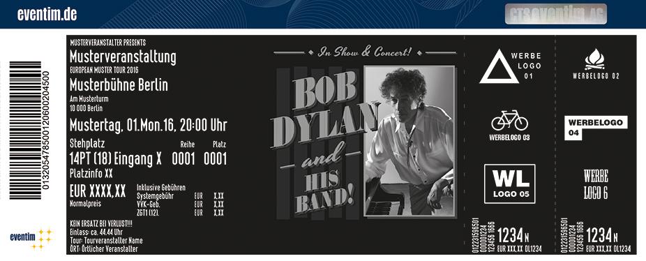 Bob Dylan Karten für ihre Events 2017