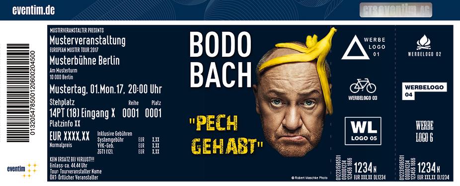 Karten für Bodo Bach: Pech gehabt in Frankfurt / Main
