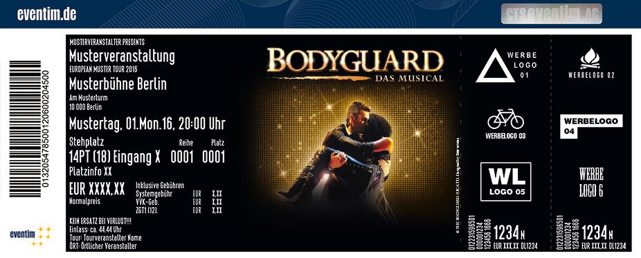 Karten für BODYGUARD - DAS MUSICAL in Stuttgart in Stuttgart
