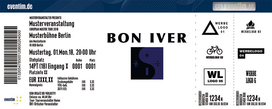 Bon Iver Karten für ihre Events 2018