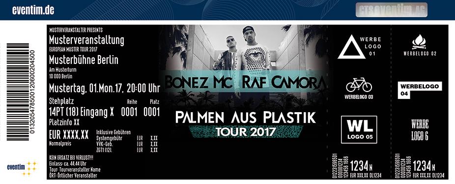 Karten für Bonez MC & RAF Camora in Wien