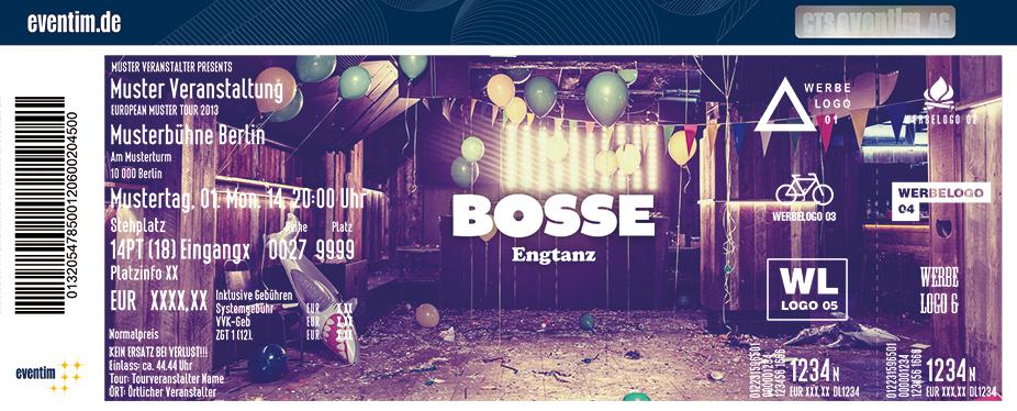 Bosse Karten für ihre Events 2017