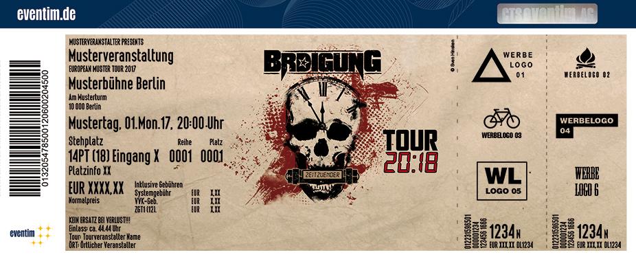 Karten für BRDIGUNG: Zeitzünder Tour 2018 in München