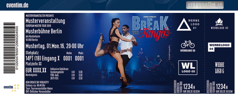Karten für Break The Tango - Tango meets Streetdance in Berlin