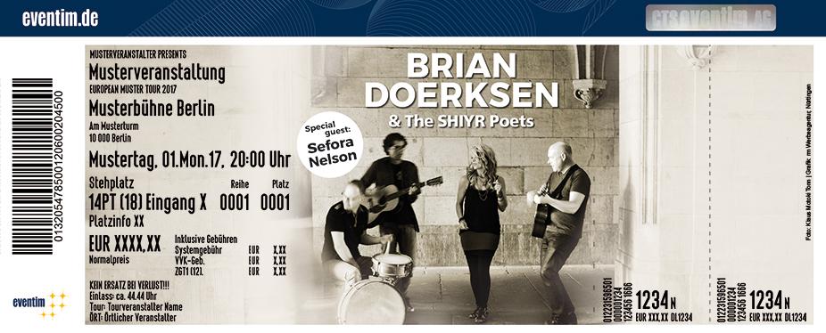 Karten für Brian Doerksen in Stuttgart