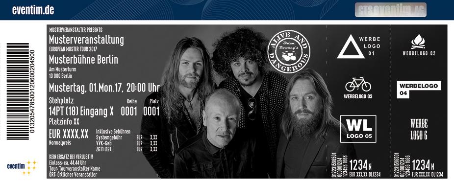 Karten für Brian Downey´s Alive & Dangerous in Dresden