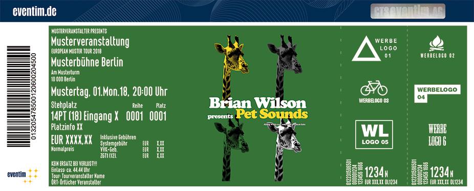 Brian Wilson Karten für ihre Events 2018