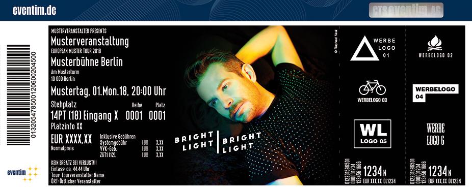 Karten für Bright Light Bright Light in Hamburg