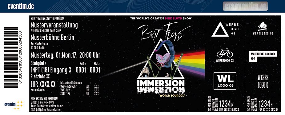 Karten für Brit Floyd: Immersion World Tour in Basel / Schweiz