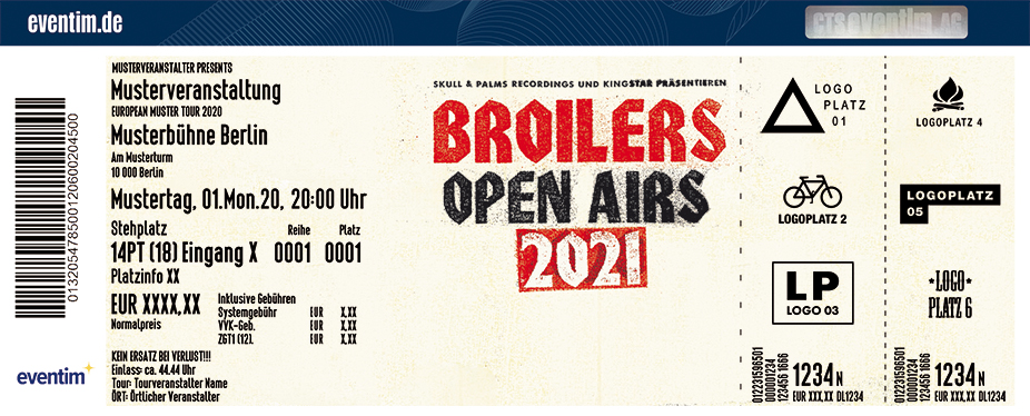 Broilers - Open Airs 2021