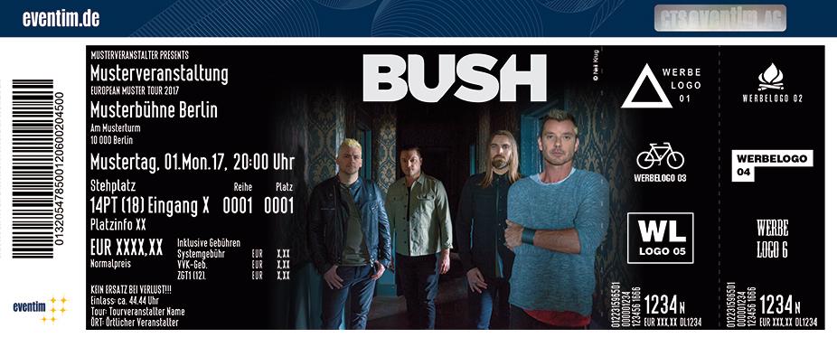 Karten für BUSH in Hamburg