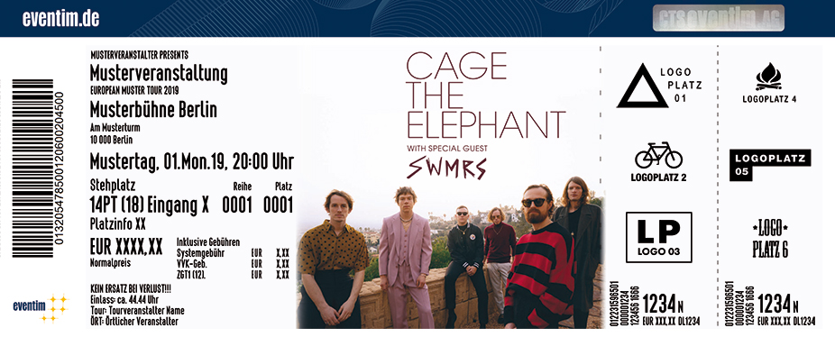 cage the elephant tour 2020