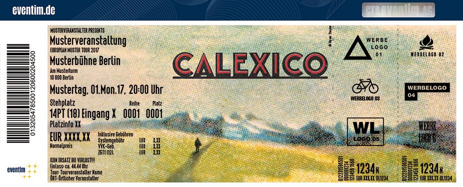 Calexico Karten für ihre Events 2018