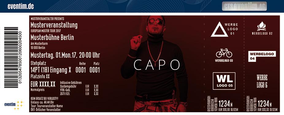Capo Karten für ihre Events 2017