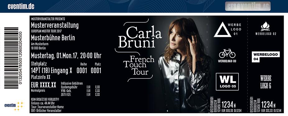 Karten für Carla Bruni: French Touch - Tour 2018 in Hamburg