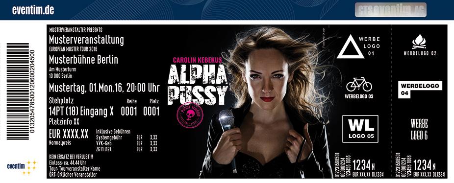 Karten für Carolin Kebekus: AlphaPussy in Aachen