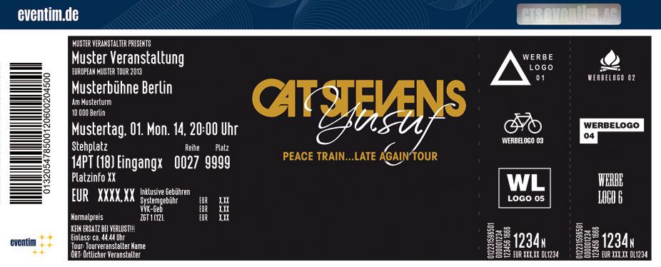 Yusuf/Cat Stevens - Peace Train…Late Again Tour 2014 - MLK - www.mlk ...