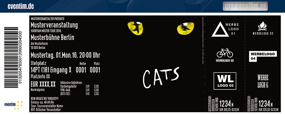 Karten für CATS in Köln