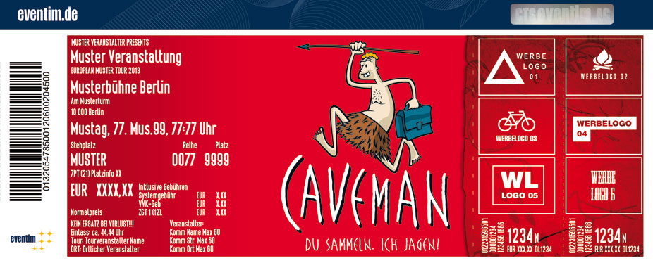 Caveman in Gütersloh - Tickets