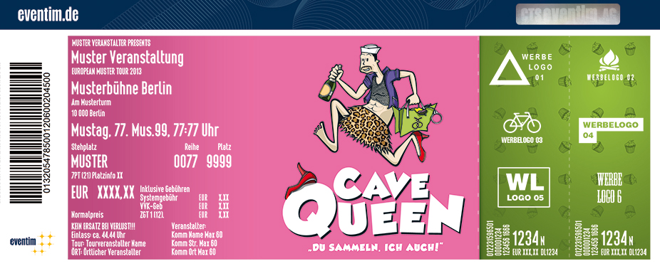 Cavequeen in Oldenburg - Tickets