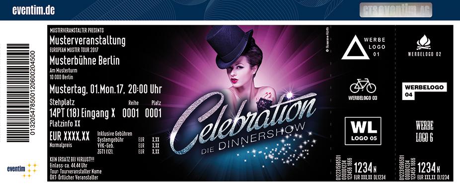 Karten für Celebration - Die Dinnershow in Leipzig