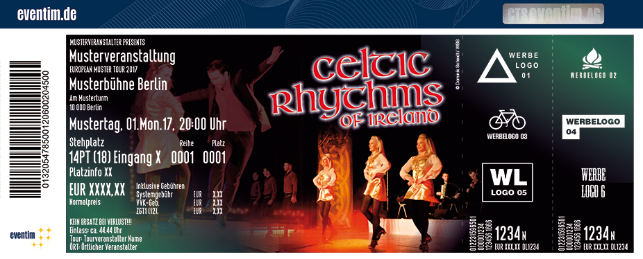 Karten für Celtic Rhythms of Ireland in Neustadt In Holstein