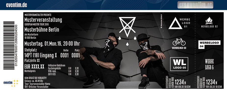 Karten für Chakuza + Bizzy Montana: Blackout 2 Tour 2017 in Berlin