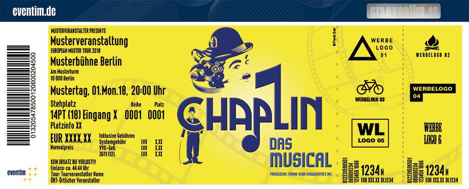 Karten für Chaplin - Das Musical in Limburg