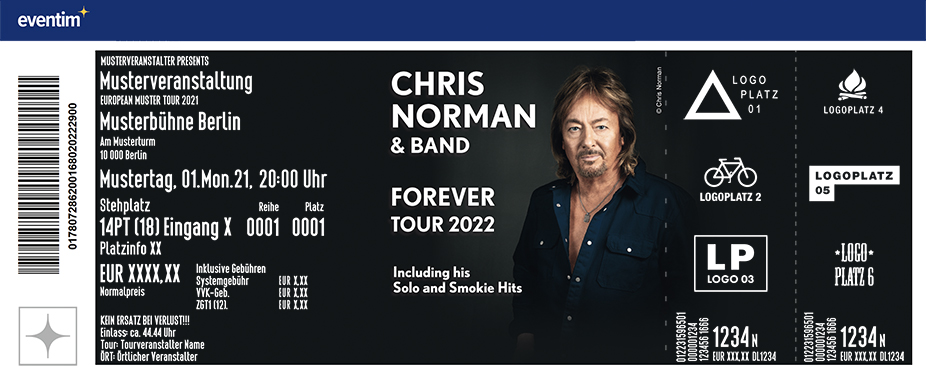 Chris Norman & Band - Forever Tour 2022